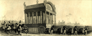 Funeral procession of Alexander the great 