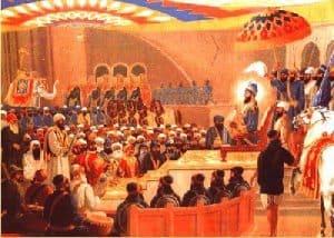 Darbar of Guru Gobind Singh ji Sacha Padishah