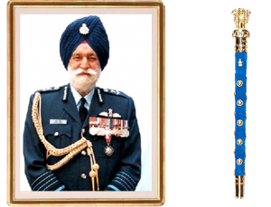 Marshal of Air Force ARJUN SINGH is a living legend .