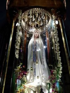 The blessings of mother Mary