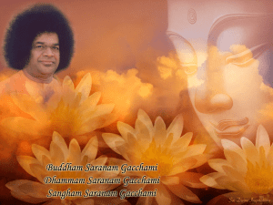His Holiness Sathya Sai Baba ( 23NOV 1926 to 24 APR 2011)