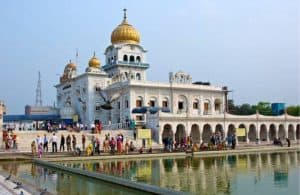 Bangla Sahib Gurudwara in New Delhi
