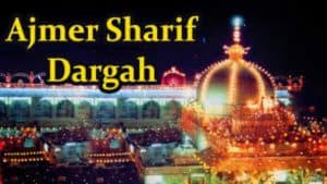 the famous place in AJMER i.e.'' Ajmer Shareef Dargah