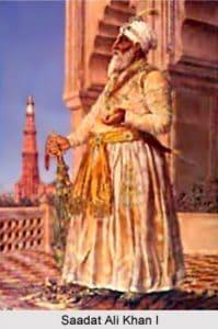 Nawab Saadat Ali Khan of Awadh