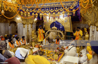 The founding of Khalsa is celebrated by Sikhs during the festival of Vaisakhi